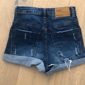 One Teaspoon Shorts - One by teaspoon denim shorts